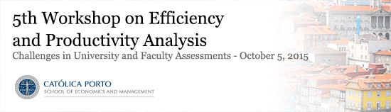 5th Workshop on Efficiency and Productivity Analysis