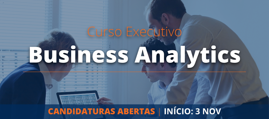 Banner Curso Executivo Business Analytics