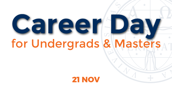 Career Day for Undergrads & Masters