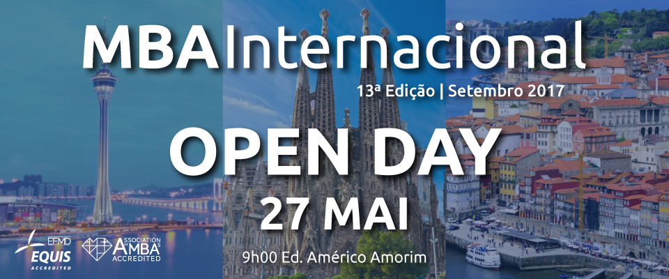 Banner Open Day MBA Internacional