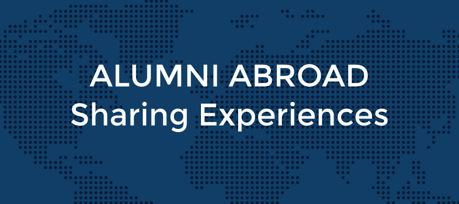 banner Alumni Abroad - Sharing Experiences